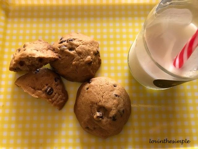 coconut oil choc chip cookies 3